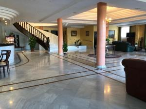 El vestíbulo o zona de recepción de Los Bronces