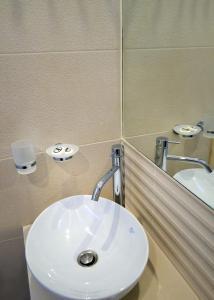 Een badkamer bij Papadakis