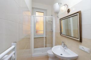 חדר רחצה ב-Appartaments Marrucini