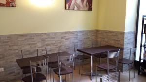Ein Restaurant oder anderes Speiselokal in der Unterkunft Hostel Mosaic