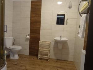 Łazienka w obiekcie Willa Global