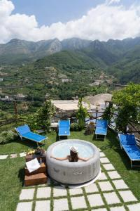 A view of the pool at TRA... INCANTO E NATURA or nearby