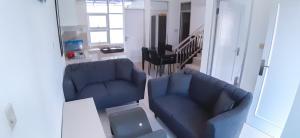 A seating area at Rumah Alifa