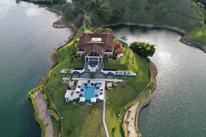 A bird's-eye view of Hotel La Magdalena Adult Only