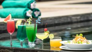 Drinks at Green Amazon Residence Hotel