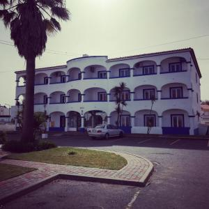 The building where the hotel is located