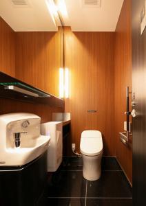 A bathroom at APA Hotel Osaka Umeda