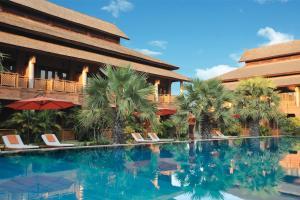 The swimming pool at or near Aureum Palace Hotel & Resort Bagan