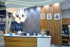 A restaurant or other place to eat at Hilton Garden Inn Mbabane