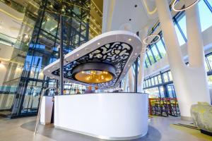 The lobby or reception area at Hilton Garden Inn Mbabane