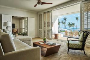 A seating area at Four Seasons Resort Oahu at Ko Olina