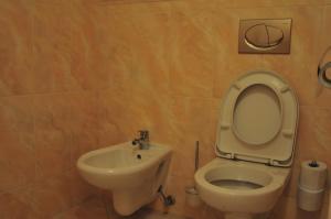 A bathroom at Hotel Pegas Brno