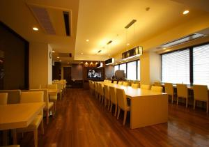 A restaurant or other place to eat at Hotel Sorriso Hamamatsu
