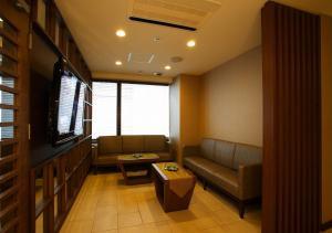 A seating area at Hotel Sorriso Hamamatsu