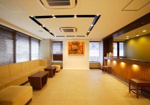 The lobby or reception area at Hotel Sorriso Hamamatsu