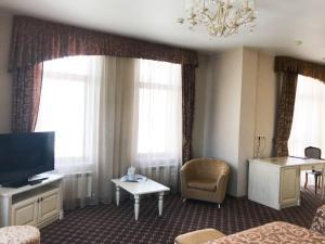 Гостиная зона в Отель Европа