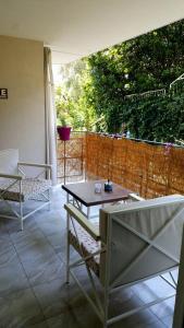 Балкон или терраса в Rooms Villa Harmonie - Adults Only +14
