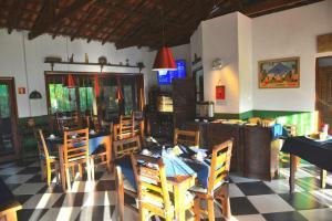 Um restaurante ou outro lugar para comer em Lagamar Ecohotel
