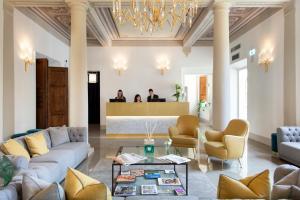 The lobby or reception area at Horto Convento