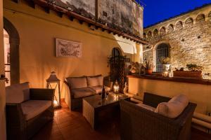 Area soggiorno di B&B San Remigio