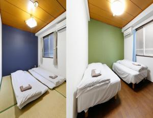 A bed or beds in a room at Business Hotel Taiyo
