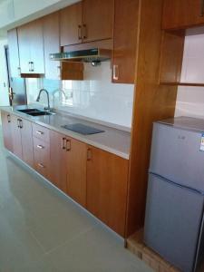 A kitchen or kitchenette at Residences Sommet Port Salut