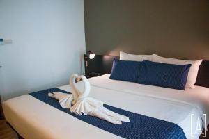 Un ou plusieurs lits dans un hébergement de l'établissement i-river chiangmai