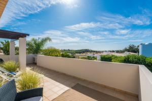 A balcony or terrace at Casa Eleonora lifestyle Lodge