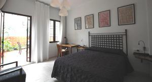 Letto o letti in una camera di Hotel Casa de los Azulejos
