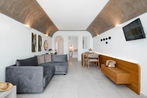 A seating area at Santorini Princess Spa Hotel