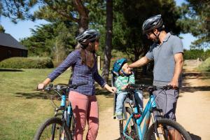 Biking at or in the surroundings of Les Ormes Resort