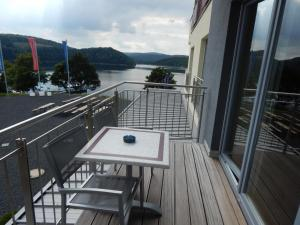 A balcony or terrace at Der Seehof