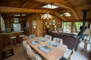 Dining area in the lodge