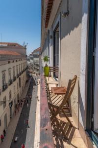 A balcony or terrace at LV Premier Apartments Chiado- CH