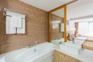 Ванная комната в TND Hotel