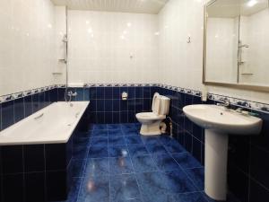 Ванная комната в Hotel Mask