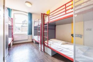 A bunk bed or bunk beds in a room at YHA Liverpool Central