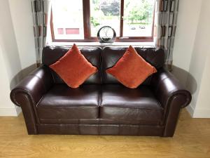 Posezení v ubytování Carriagehill Court Paisley