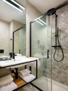 Kúpeľňa v ubytovaní Hotel Wawel Queen