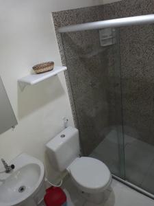 Um banheiro em Pousada Frau Spring
