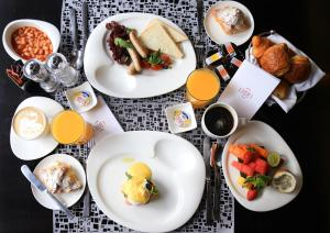 Breakfast options available to guests at Pullman Jakarta Indonesia