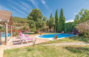 The swimming pool at or near Five-Bedroom Holiday Home in Coripe
