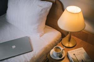 Łóżko lub łóżka w pokoju w obiekcie Motel S3