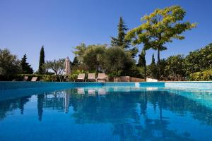 The swimming pool at or near Luxury Apartments Klara