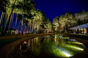 Der Swimmingpool an oder in der Nähe von Bioli Wellness Resort