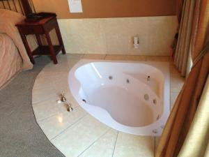A bathroom at Blue Haze Country Lodge