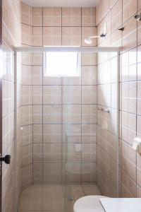 A bathroom at Hotel Scoz