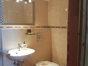 A bathroom at Tavirózsa