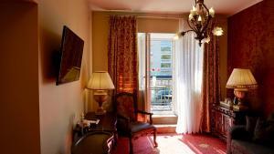Istumisnurk majutusasutuses Grand Rose SPA Hotel