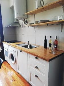 A cozinha ou kitchenette de Paço 100 Pressa